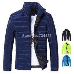 Wholesale men s brand winter men Leisure cotton padded jacket winter coat cotton jacket Slim hot coat Man clothing
