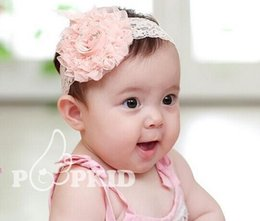 Wholesale Hot Sale Baby Headbands Head bands For Babies Girls Chiffon Flower Headbands HairBand Hair Accessories