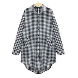 Blue Check Shirt Women Online | Blue Check Shirt Women for Sale