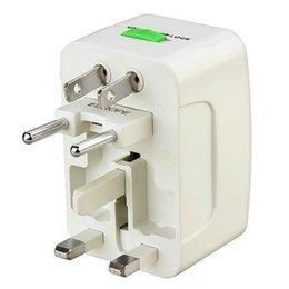 Navire des Etats-Unis! All-in-One Voyage Plug Power Adaptateur pour US, UK, EU, AU Haute Universal Adapter Qualité