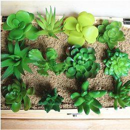zakka simulation office mini plant artificial potted plants green succulents mini decorative artificial flowers for home office decor artificial plants for office decor