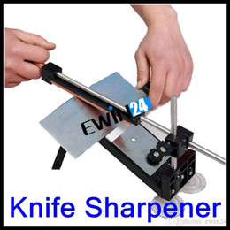 Wholesale Professional Kitchen Knife Sharpener Tools System Fix angle Sharpening Cutlery Kitchen Storage New Arrival sets
