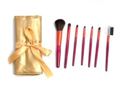 Wholesale blond Professional Makeup Cosmetic Brush set Kit Case H1059G Alishow