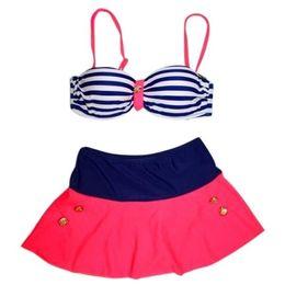 Wholesale Fashion Women Sexy Push up Plus Size High Waist Bikini Bathing Suits Bathing Suits Fat Women High Waist Bikini Swim