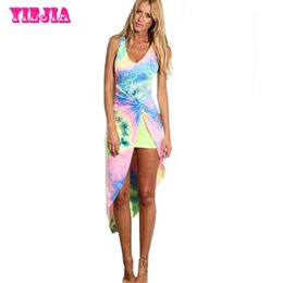 Discount Elegant Tie Dye Dresses  2017 Elegant Tie Dye Dresses on ...