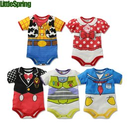Wholesale PREORDER Baby romper jumpsuit Kids clothes newborn conjoined creeper Gentleman Baby Costume dress outfit B LZ L0088