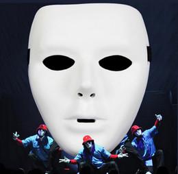 Máscara de alta qualidade Moda Halloween Fina Jabbawockeez Máscara Hip-Hop Partido Máscara Aleatório dança da máscara do partido do traje da máscara frete grátis
