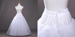 Wholesale 2015 Summer A Line White Wedding Petticoats Underdress Bridal Slip for Wedding Dresses Bridal Petticoats CPA212