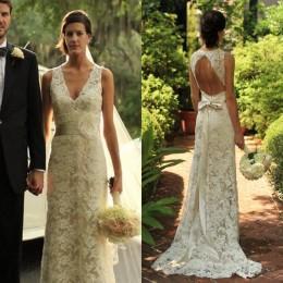 Discount Sheer Beige Wedding Dresses   2017 Sheer Beige Wedding ...