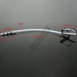 Wholesale Medical plastic urethral sounds Male Urethral Plug Penis Plug Tube urethral stretching Men s Chastity Devices urethral sounding