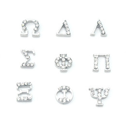 20pcs lot diy mixed greek letters floating charms for glass memory lockets good quality and free shipping