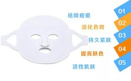 Wholesale HOT LED red blue light power mask Photon tender skin beauty colour light meter Whitening pale spot acne