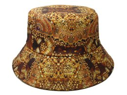 Wholesale mix order new fashion Brown cotton bucket hats for mens womens fishing caps gorras sports headwear good color top quality photo album