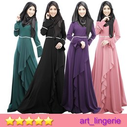 Wholesale 2015 Muslim Abaya Dress Muslim Long Dresss Arab Women Robe Muslim Abaya Dubai Kaftan Islamic Muslim Dress F
