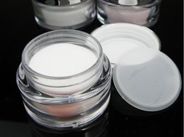 Wholesale Acrylic Powder Nail crystal powder white transparent pink three color to choose or mixed