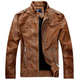 Fleece Lined Leather Jacket Online | Mens Fleece Lined Leather ...