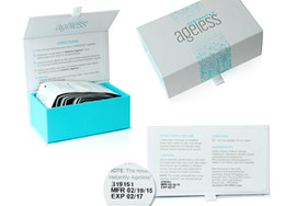 DHL Free 50Sachets por caja JEUNESSE AGELESS Crema para los Ojos Instantáneamente Face Lift Productos para el Cuidado de la Piel Anti Envejecimiento Wrinkle TOP Quality