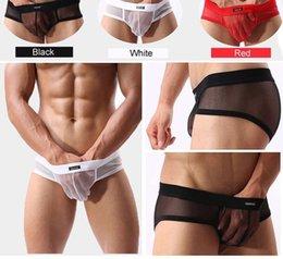 Wholesale Mens Men Briefs Men s Underwear Sexy Briefs Modal Underwear U Convex Pouch New AC Man Brief moda intima sexy Boy Shorts
