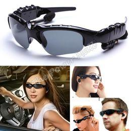 Best Selling 2GB Sunglass Sun Glass Sports Headset MP3 WMA Player Black #6 SV005820