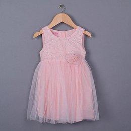 Wholesale New Korean Summer clothing new style children vest dress korean gauze sequins girls princess dress pink kids dresses
