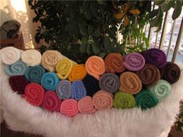 Wholesale Newborn Baby Stretch Wrap Rayon Knit Stretch Wrap cm cm