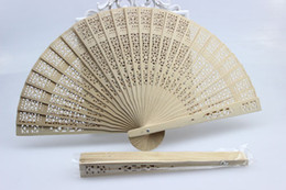 Wholesale Wedding Fans Wooden Fans Handmade Chinese Sandalwood Fans Ladies Hand Fans Advertising and Promotional Folding Fans Bridal Accessories