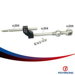 PQY МАГАЗИН-регулируемой высотой короткий переключатель для Гражданское Интегра CRX В16 В18 В20 D16 Полный набор коротких Shifter PQY5465BK