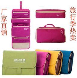 Mais recente viagem outdoorToiletry Kits Bag Organizador de armazenamento portátil multifuncional saco gargarejo lavagem pendurado triagem dom 4colors companheiro de viagem