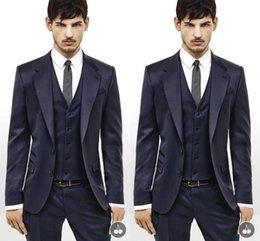 Wholesale Top Jacket Pants Bow Real Image Formal Tuxedos Suits Men Wedding Suit Slim Fit Business Groom Suit Set Handsome Dress Suits Tuxedo For Men