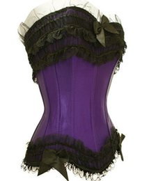 Wholesale New Fashion NEW Sexy Full Steel Bones Lace Up Corset Wedding corset top Sexy Corset Overbust Corsets