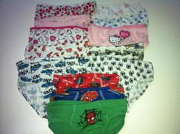 Wholesale fashion cute baby girl and boy lovely cartoon printed cotton baby briefs