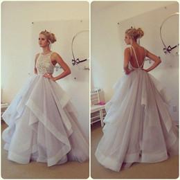 Stunning White Crystal Prom Dresses Online | Stunning White ...