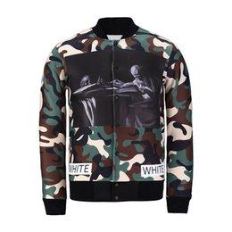 Wholesale Fashion style new men women s D print jackets camouflage jacket clothing military jacket baseball jacket fall winter coat