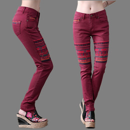 Colored jeans 2016 women's – Global fashion jeans collection