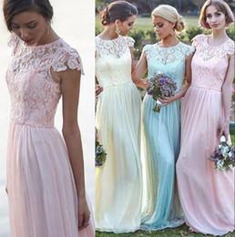 Ice Blue Chiffon Bridesmaid Dresses Online   Ice Blue Chiffon ...