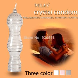 Wholesale 3pcs Constellation theme Sex Delay Condoms Style Crystal Condoms Sex Products Penis Sleeve YST010
