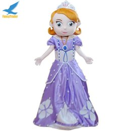 Wholesale Fancytrader Deluxe Sofia Mascot Costume Halloween the First Real Pictures