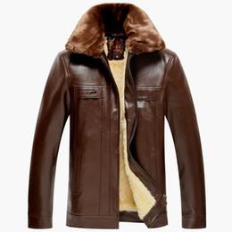 Discount Mens Suede Jacket Fur   2017 Mens Suede Leather Fur ...