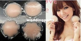 Wholesale 250pairs New Invisible Bra Breast Nipple Cover Silicone Pad Skin Adhesive Reusable Bra