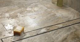 Desagüe vertical de la ducha de la inserción del azulejo drenaje linear largo del piso