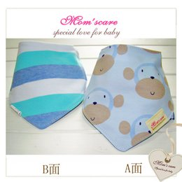 Wholesale 2015 New Arrival Baby Babador Spring and Summer Baby Bibs Double Layers Infant Burp Cloths Accessories Toddler Baberos