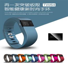 Водонепроницаемый IP67 Смарт браслеты TW64 Bluetooth-оздоровительная деятельность трекер smartband браслет часы браслет Pulsera не FitBit гибкого подходят немного