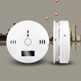 Home Security Safety Carbon monoxide detector co Alarm Gas Detector work with 3pcs AA battery CE Rohs Certification