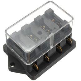 discount motorcycle fuse box 2017 motorcycle fuse box on at universal 12v 4 way circuit standard ato blade fuse box holder shipping order< 18no track motorcycle fuse box deals
