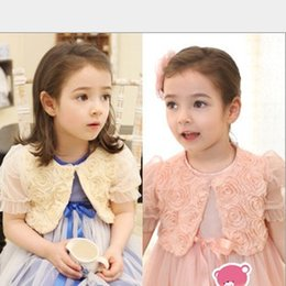 Wholesale The New Summer Models Girls Sweet Pincess Roses Embroidered Shawl