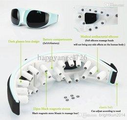 Wholesale Eye Massager finger massage points kindsof acupressure circulation ways silicone Eye Care Vibration Massager