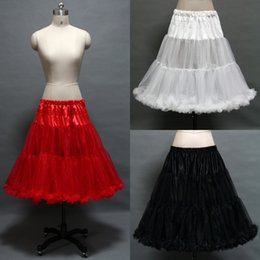 Wholesale Fashion White Red Black Color Available Tulle Bridal Gown Dress Petticoat Underskirt Wedding Accessory Best Sale AN