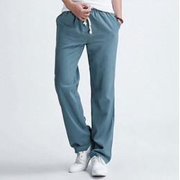 Discount Drawstring Linen Pants For Men | 2017 Drawstring Linen ...