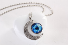 Wholesale The stars the moon time diamond necklace series accessories