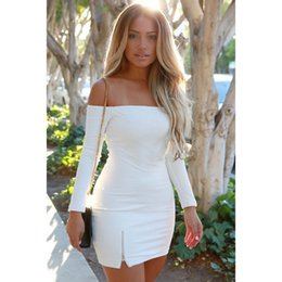 Discount Strapless Tight White Dress | 2017 White Short Tight ...